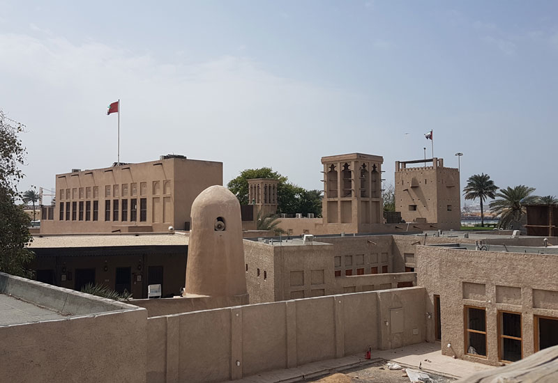 Acciona Producciones y Diseño, Dubai, Dubai Municipality, Heritage architecture, Shindagha Museum, UAE