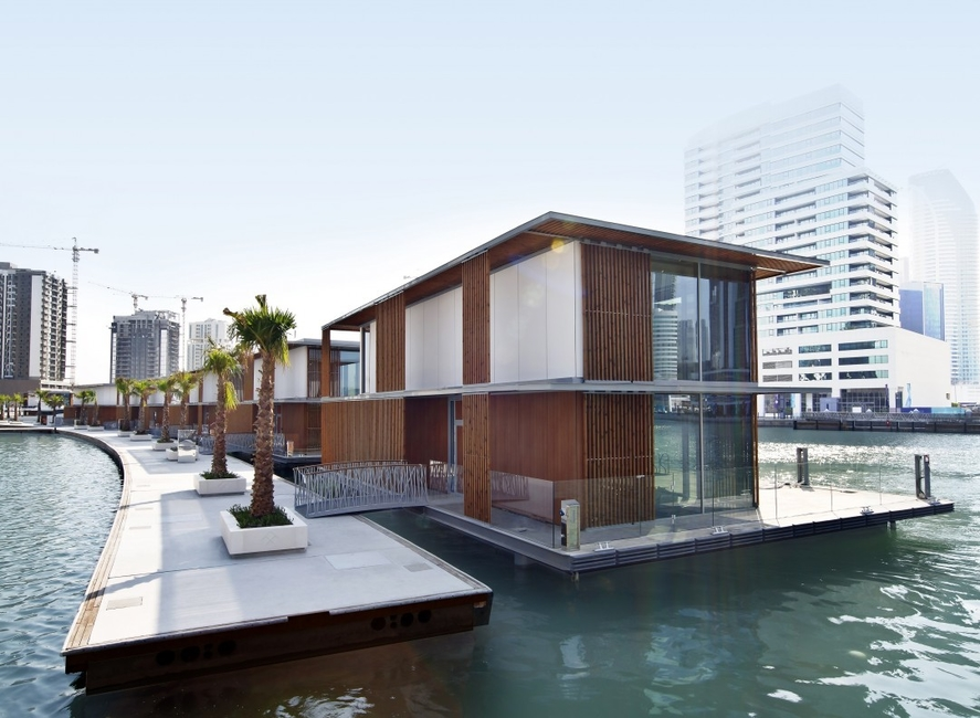 Dubai Canal projects, Marasi Water Homes, Residential projects, U+A, Waterfront developments, Waterfront properties UAE