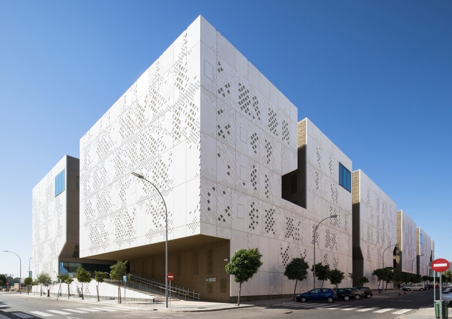 Cordoba, Courtyards, Islamic architecture, Mecanoo, Palace of Justice, Spain