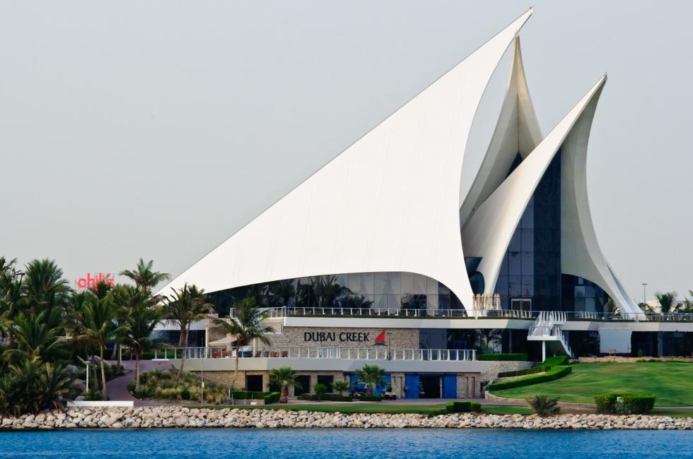Architecture, Dubai architecture, Dubai Creek Golf & Yacht Club, GAJ, Godwin Austen Johnson