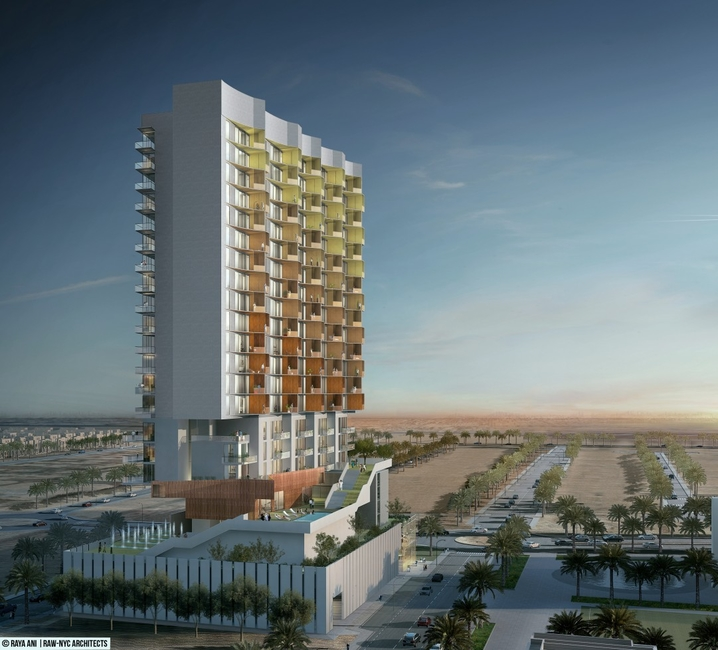 Al Furjan projects, Architecture, RAW-NYC, Raya Ani, Residential projects UAE