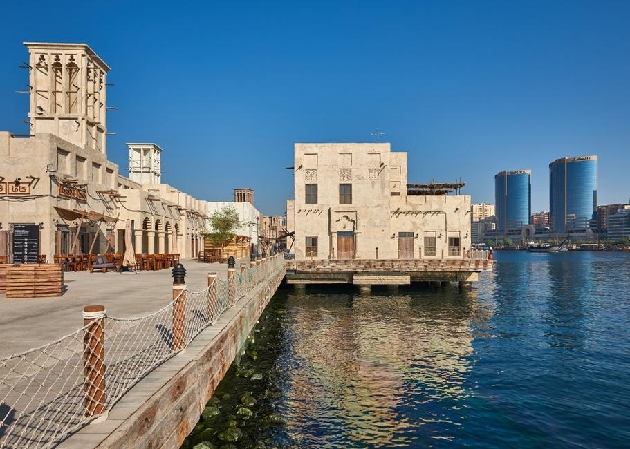 Al Seef, Architecture, Dubai, Dubai Creek, GAJ, Heritage, Heritage architecture