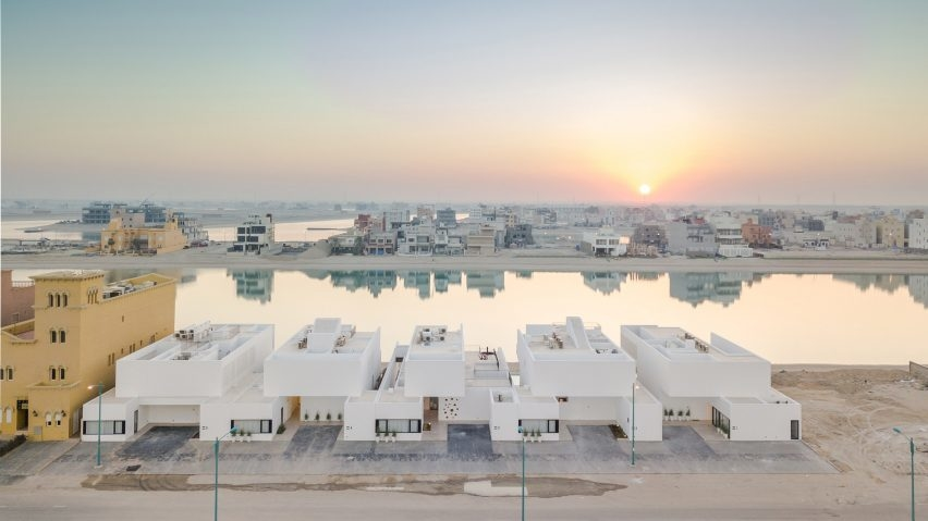 AAP, Associated Architects Partnership, Khiran Resort development, Kuwait architecture, Kuwait Canal, Minimalist home design, Sabah Alahmed Alsabah Maritime City