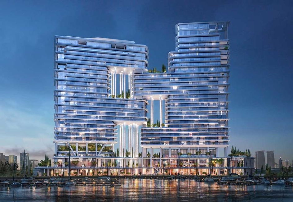 Architecture, Dubai Canal, Mixed-used projects, Omniyat, UAE buildings