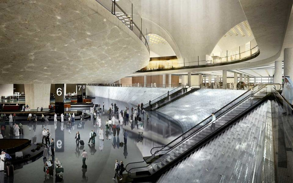 Airport architecture, Kuwait, Kuwait International Airport, Limak Insaat, Turkish contractors