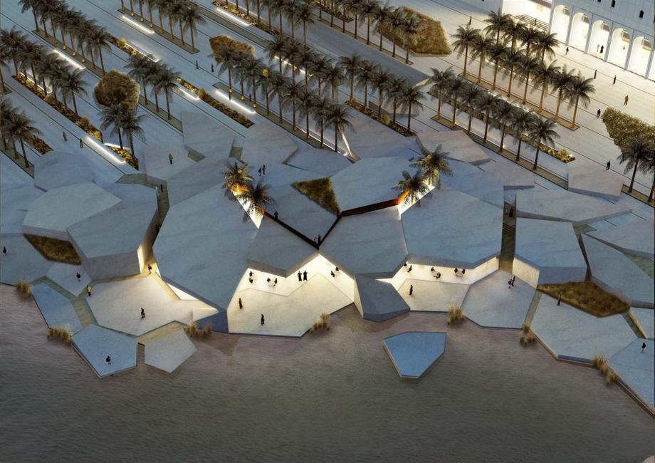Abu Dhabi, CEBRA, Heritage, Qasr Al Hosn, Qasr Al Hosn Masterplan