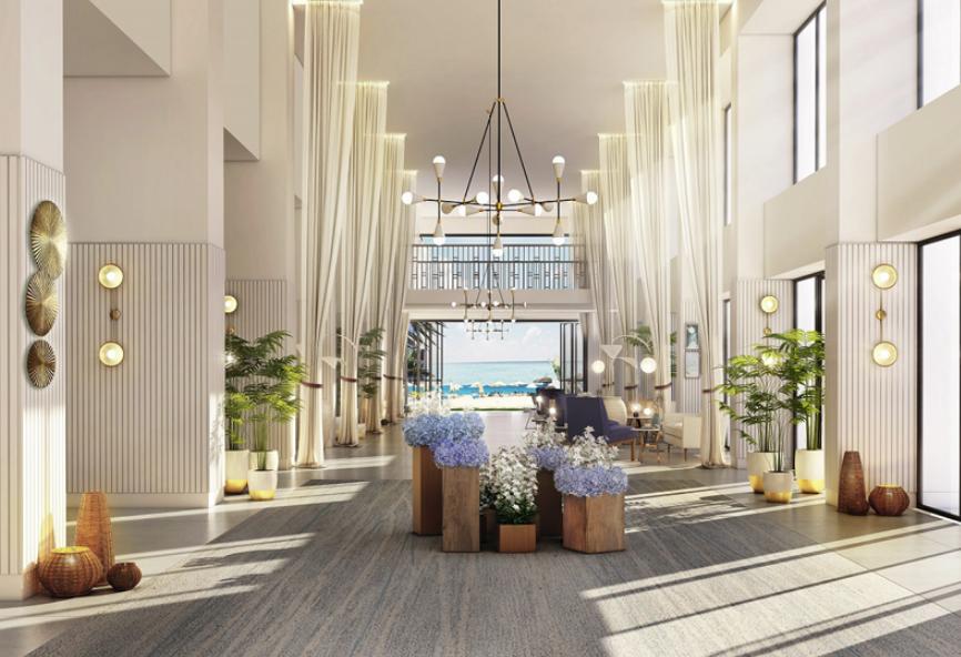 Alamein Hotel, Egypt hotels, Emaar, Renovation architecture, Renovation design