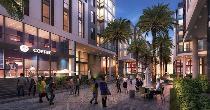 Academics, Dubai, Dubai Academic City, Student Housing, The Myriad Dubai