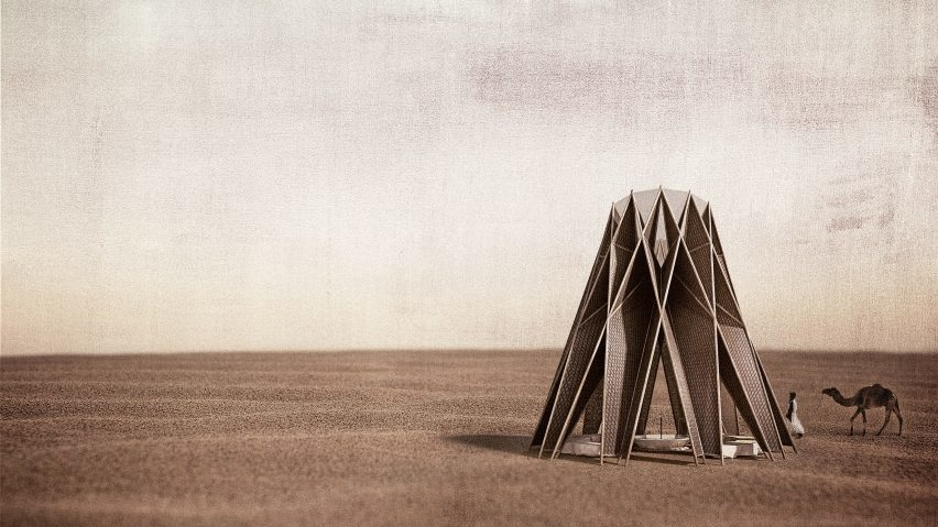 Architecture from Jordan, Beouin-inspired architecture, Jordan, Jordanian architects, Nomad pavilion