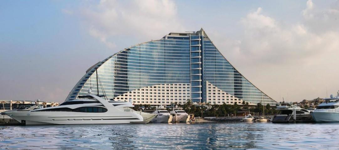 Dubai, Hotels, Jumeirah Beach Hotel, Renovation, United Arab Emirates