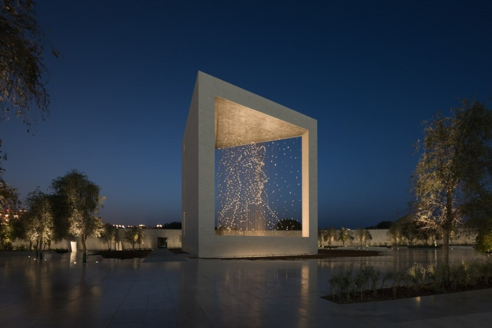 Abu Dhabi Architecture, Dpa lighting, The Founder's Memorial