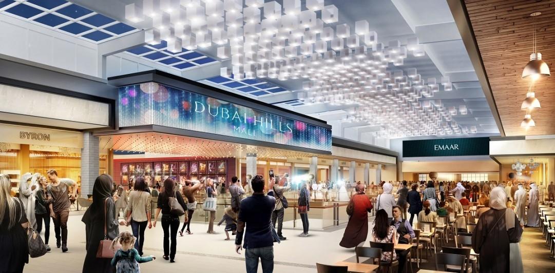 Dubai Hills Mall, Emaar, Meraas, Retail destinations GCC, Solar shading