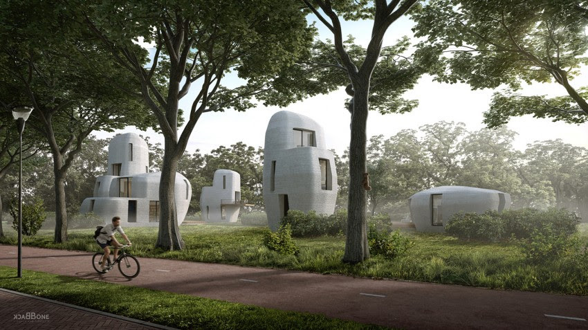 3D printed architecture, Eindhoven University of Technology, Saint-Gobain
