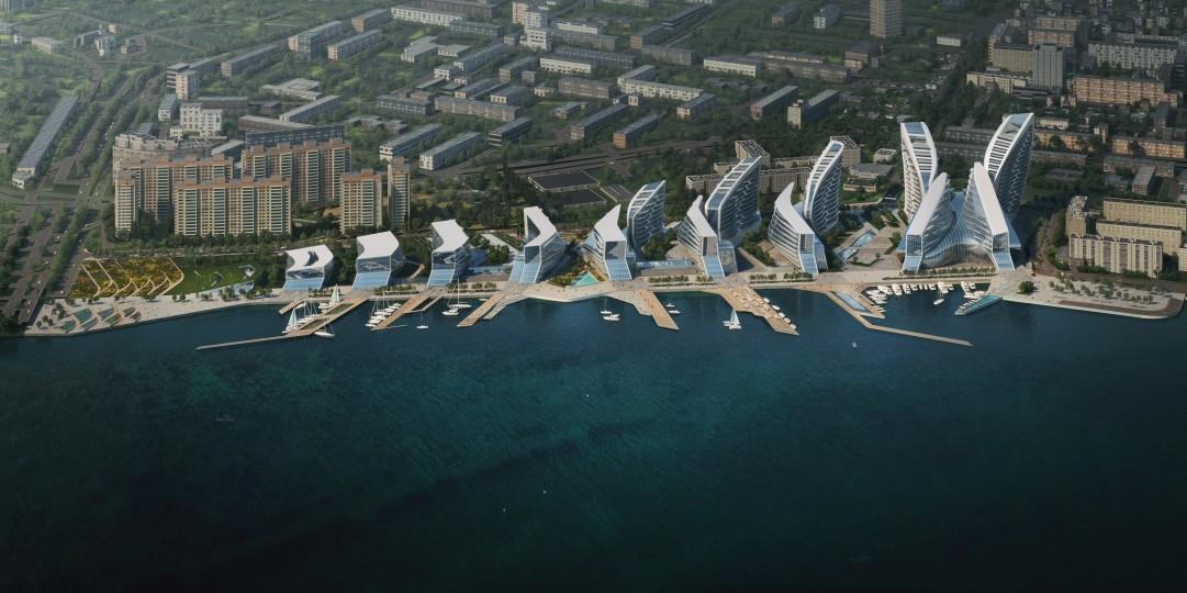 Masterplanning, Masterplans, Novorossiysk, Russia, Zaha Hadid Architects, ZHA