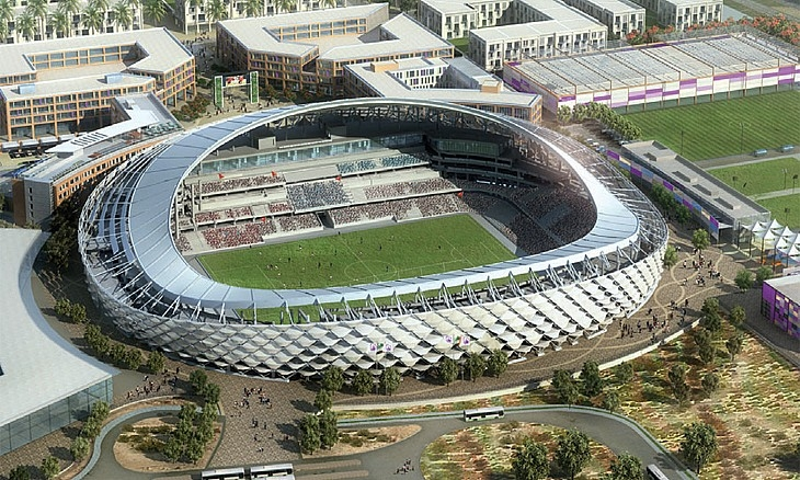 Architecture, GCC sports stadiums, Sports stadiums from the Middle East, Stadium design