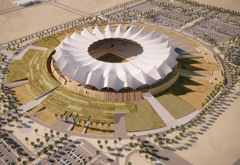 King Fahd International Stadium in Saudi Arabia