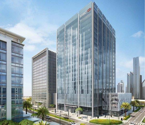 Dubai architecture, HSBC headquarters, LOM, LOM Architecture and Design
