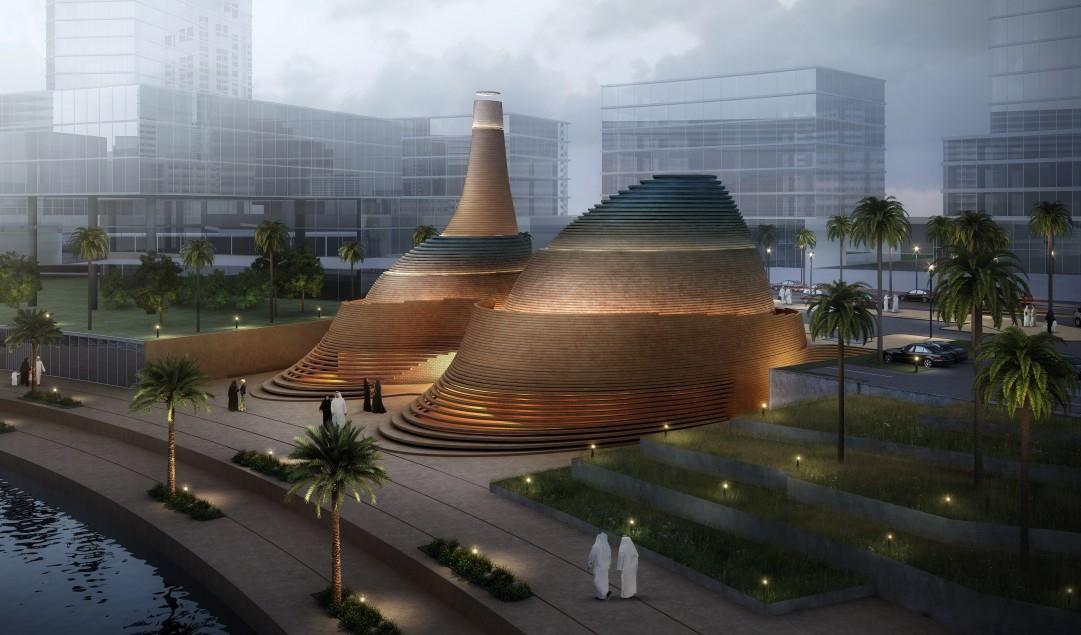 Ajman, Aldar, Architecture, Contemporary mosque, Dubai architects, Islamic architecture, Mosque, United Arab Emirates, X-Architects