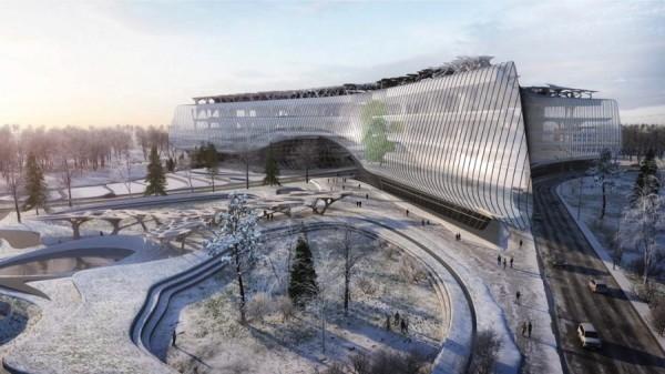 Architecture, Moscow, Technopark, Zaha Hadid Architects