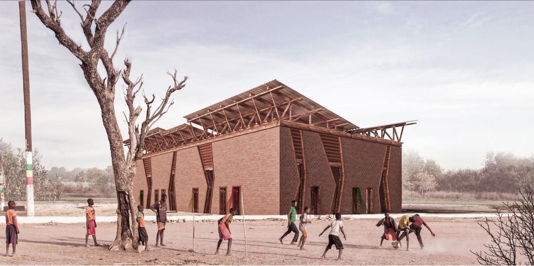 Amkna Design Studio, Architecture, Cultural centre, Cultural Projects, Dubai architects, Senegal, WAF 2018, WAF 2018 Shortlist, World Architecture Festival