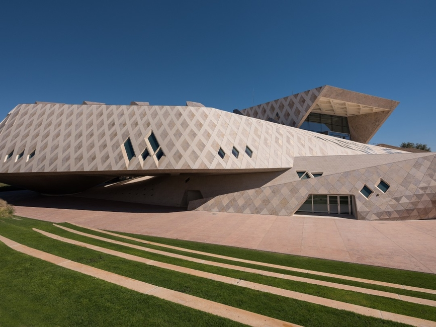 Al Ain architecture, Architecture, Buildings in the UAE, Sheikh Zayed Desert Learning Centre, UAE architecture