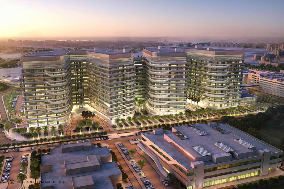 Architects, DNA Barcelona, Architecture, Healthcare design, Healthcare projects in Kuwait, Kuwait
