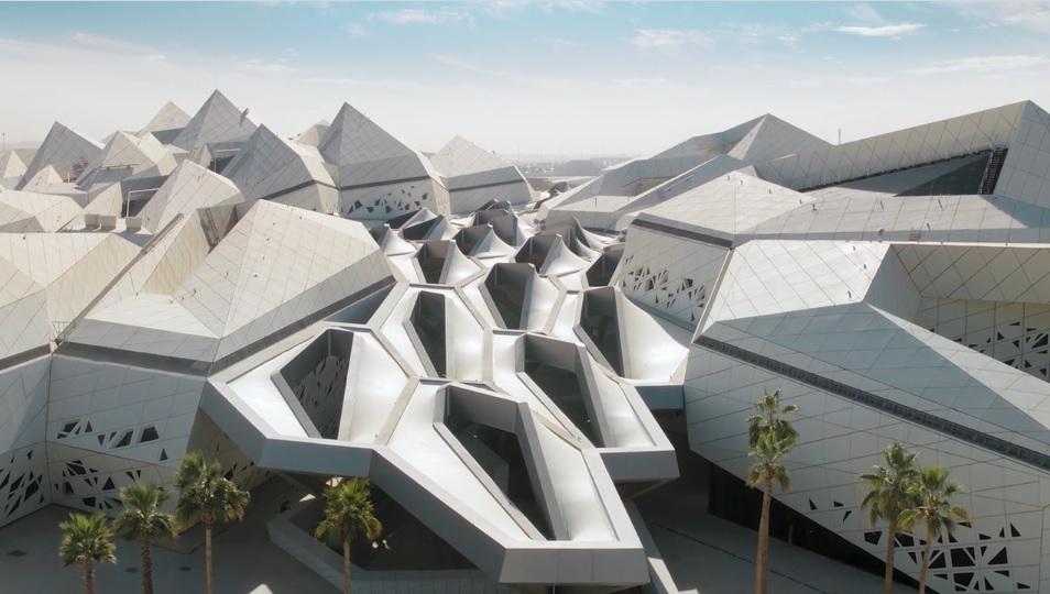 Architecture, Buildings, King Abdullah Petroleum Studies Research Centre, Riyadh, Saudi Arabia, Video, Zaha Hadid Architects