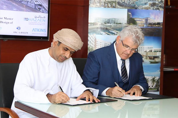 Atkins, Khazaen Economic City, Masterplan, Oman