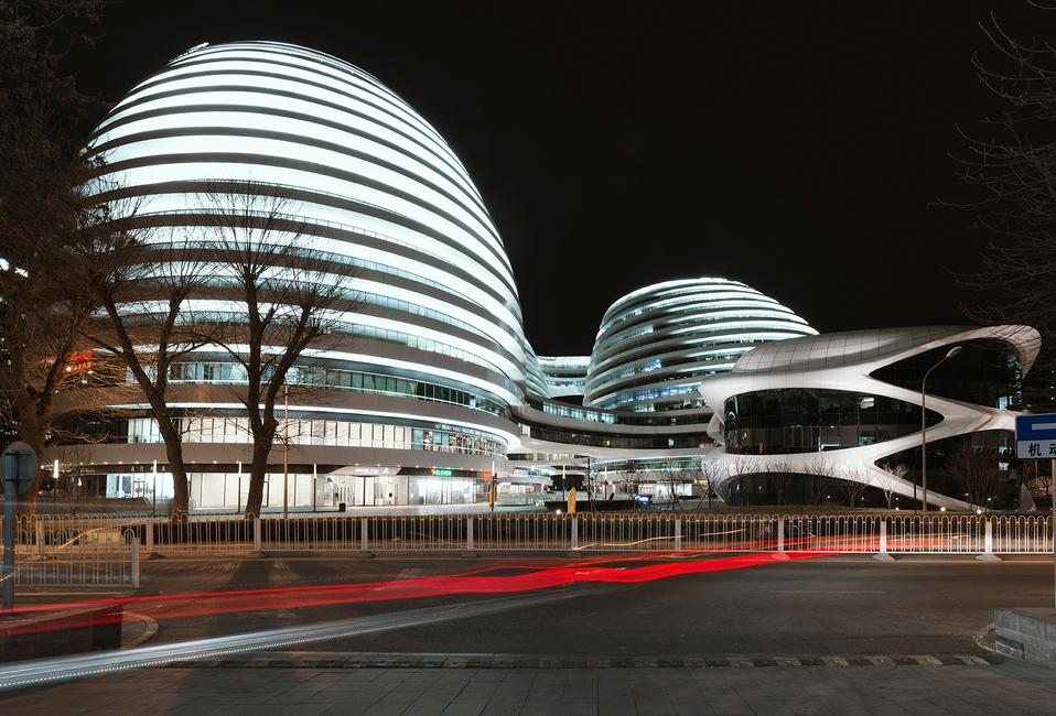 Zaha Hadid Architects, Chinese architecture, Architecture photography, Beijing projects, Galaxy Soho