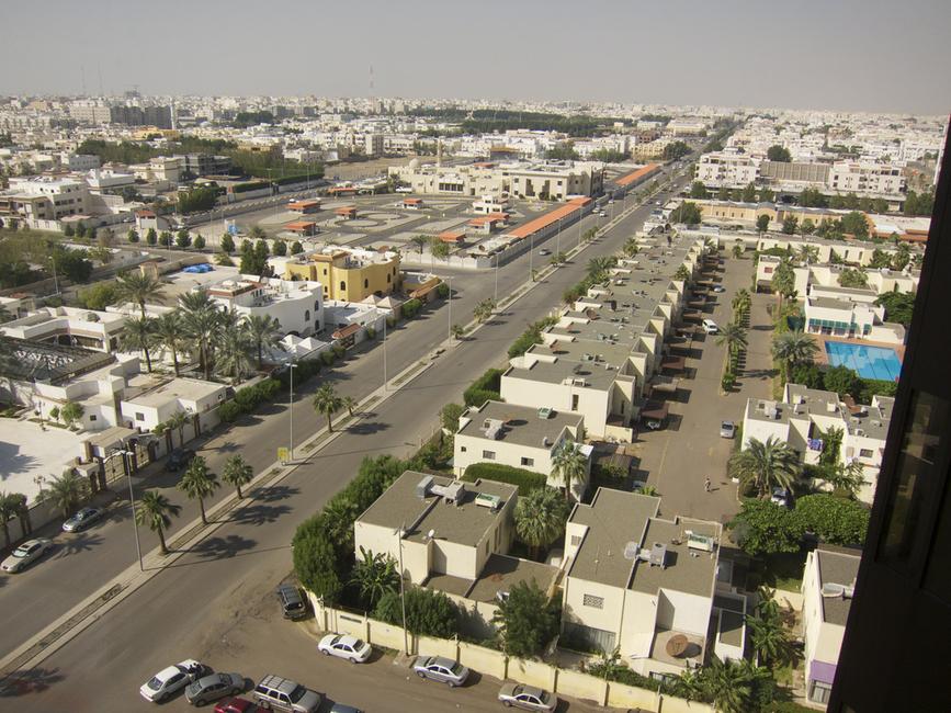 A residential area in Jeddah. Image by Nadya Peek