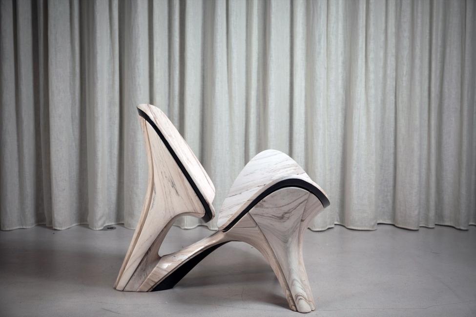 Zaha Hadid Architects, Lapella Chair, Product design, Furnishing, Interior design