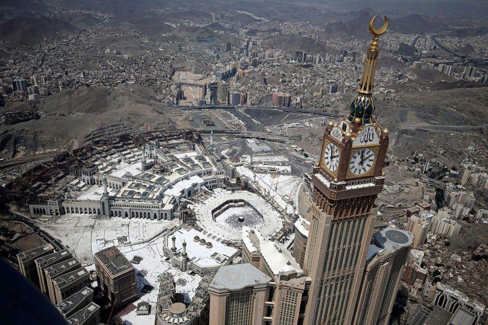 Mecca, Saudi Arabia, Development in Saudi Arabia, GCC architecture