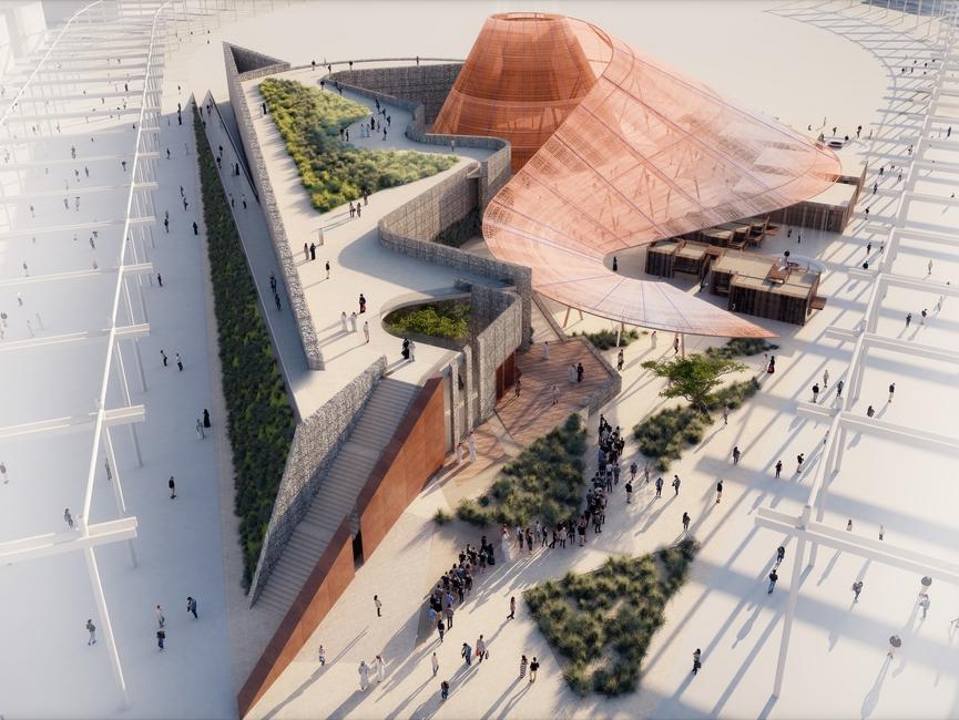 Expo 2020 Dubai, Opportunity Pavilion, Dubai, United Arab Emirates, Sustainable architecture