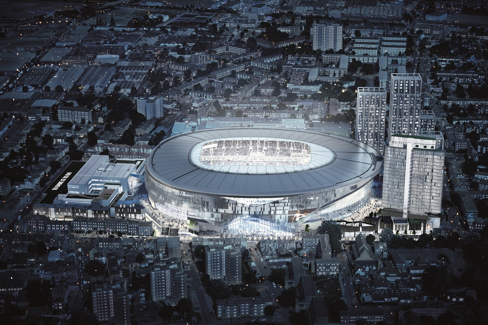 Populous, Stadium design, Office opening