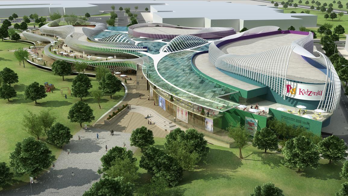 Lacasa, Dubai architects, Retail projects, Retail architecture