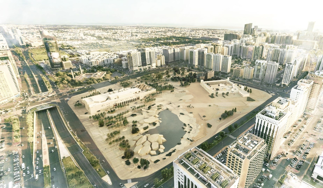Rendering of Al Hosn site, Abu Dhabi. Courtesy of Department of Culture and Tourism – Abu Dhabi.