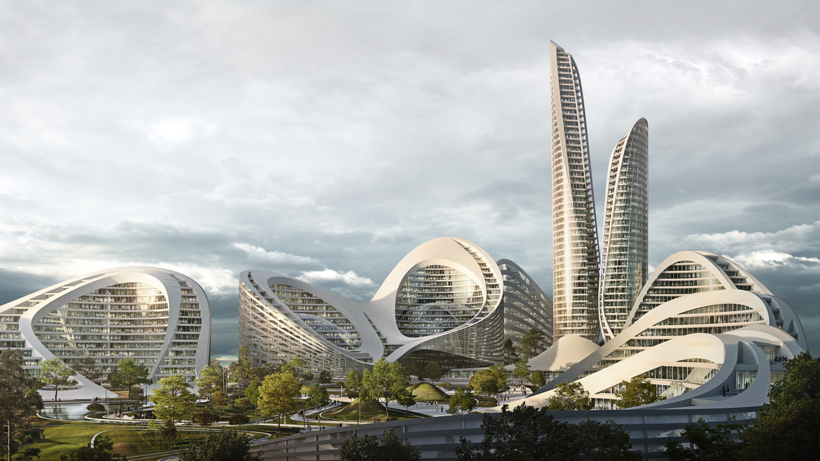 Zaha Hadid Architects, Smart cities, Smart technology, Russian projects, Masterplan projects
