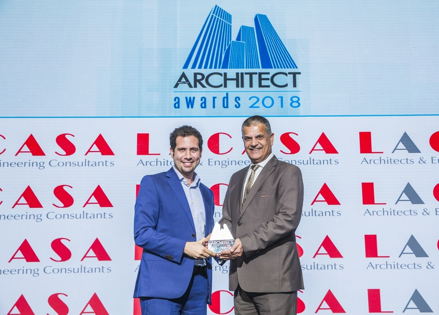 Boutique Firm of the Year  Studio Toggle    The Middle East Architect Awards 2018  Ritz Carlton DIFC Dubai     Dubai   photo by Ajith Narendra  ITP Images