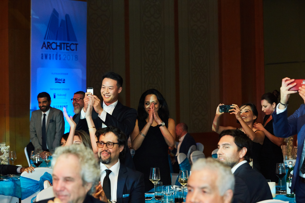 Middle East Architect Awards 2018. Image by Sharon Haridas