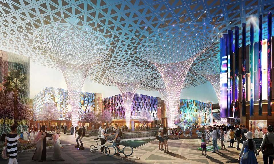 Expo 2020 Dubai, Expo 2020, Dubai, UAE, Expo construction