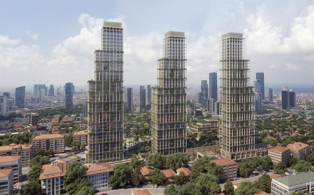 Mixed-use development, Turkey, Istanbul, VX Studio, Dubai architects