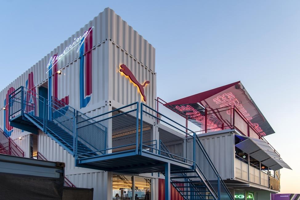 Sole DXB, Sole DXB 2018, Temporary structures, Pavilions, Roar, Light Space Design