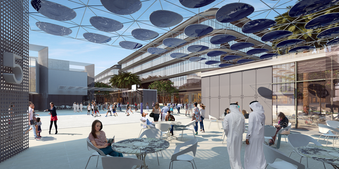CommerCity, P&T Architects and Engineers, Dubai projects, Mixed-use developments, Masterplans