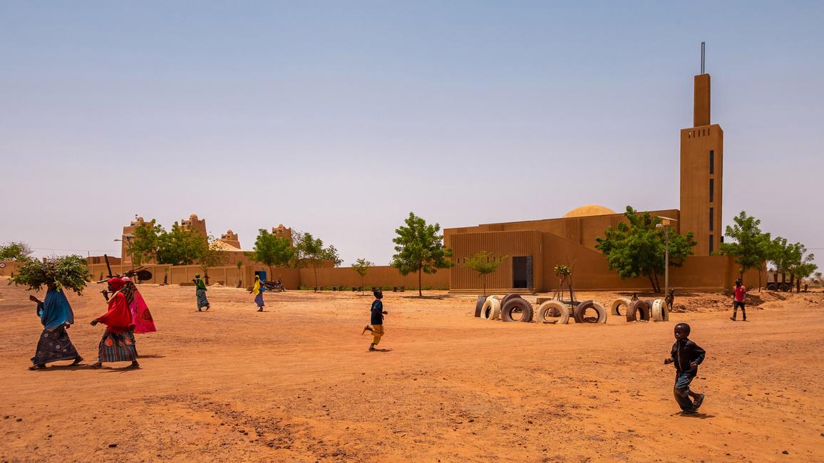 Dandanji Mosque by Atlelier Masomi in Niger