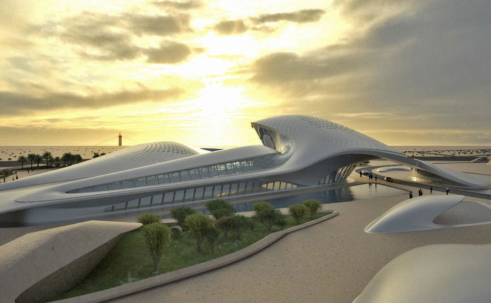 Bee'ah headquarters, Zaha Hadid Architects, ZHA, Sharjah projects, Sustainable projects, Artificial Intelligence