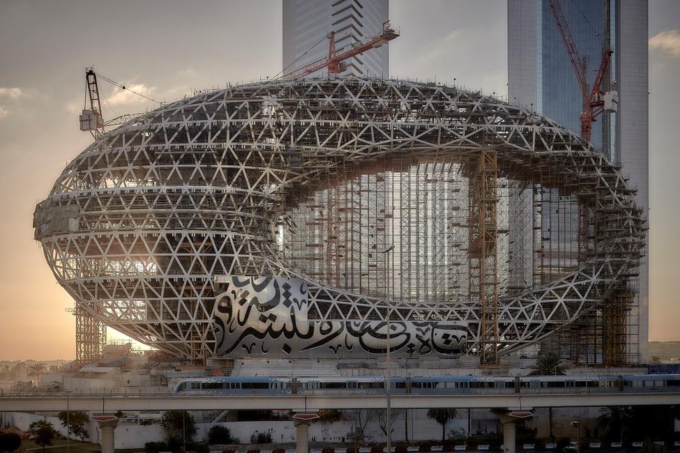 Museum of the Future, Killa Design, Architecture photography, Phil Handforth, Dubai, Construction, BIM, Low carbon buildings, Innovation