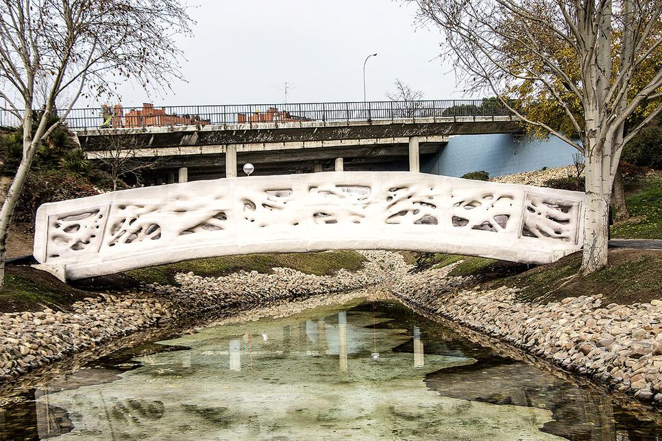 3D printing, Bridges, 3D printing architecture, Design technology, Spain, Madrid