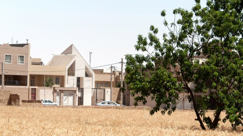 Iran, Yazd, Residential projects, Residential design, Concrete buildings, AWE Office