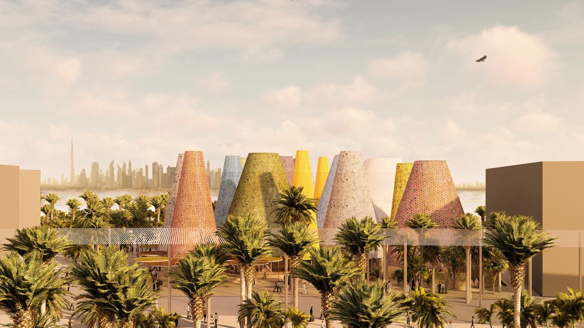 Expo 2020 Dubai, Sustainability, Spanish Pavilion, Expo 2020 pavilions, Recycled materials