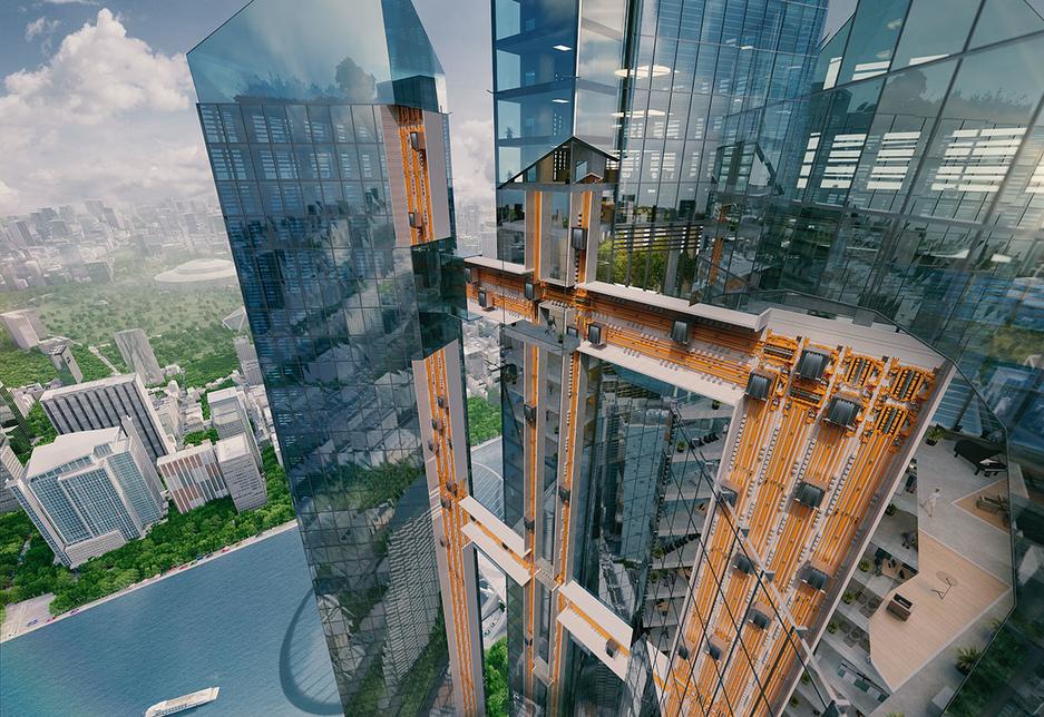 Thyssenkrupp, Elevator, Technology, Horizontal elevators, Tall buildings